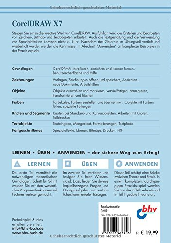 CorelDRAW X7: Das Einsteigerseminar (bhv Einsteigerseminar) - 2
