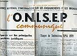 Telecharger Livres L O N I S E P communique N 2 15 30 nov 1970 8 APERCU SUR LES PRINCIPALES CARRIERES JURIDIQUES STAGE DE TECHNICIENS FPA 1971 (PDF,EPUB,MOBI) gratuits en Francaise