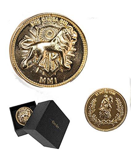 Nexthops Coin Jogn Docht Cosplay in Legierung Zinkfarbe Gold für Sammlung Klassisches Zubehör Film Kostüm Requisite Geschenk für Unisex Erwachsene Fans Gr. Einheitsgröße, 1* Coin