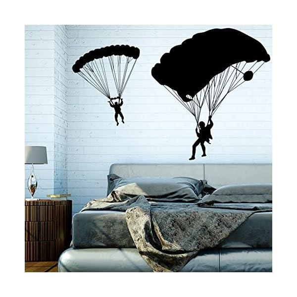 Paragliding - Wandtattoo (Wandsticker Wanddekoration Wohndeko ...