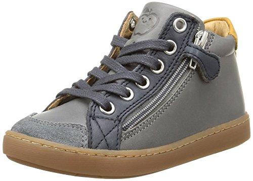 Shoo Pom - Play Hi Bi Zip, Sneakers per bambini e ragazzi, multicolore (lipiz grey/navy), 31