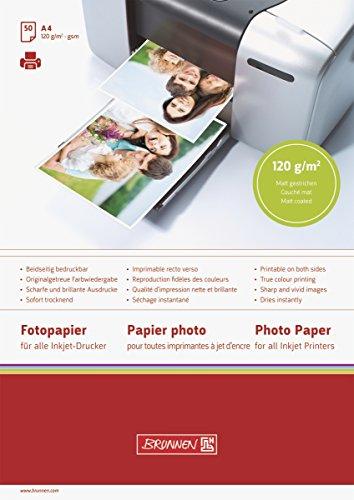 BRUNNEN 1061640 Fotoalbum-Einlegeblatt Fotopapier