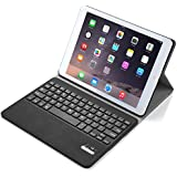 iPad Pro 9.7 Keyboard case, iBetter APPLE iPad Pro 9.7 Case With Keyboard Ultra-Thin High Quality DETACHABLE Bluetooth Keyboard Stand Case / Cover for APPLE iPad Pro 9.7 Tablet (Black)