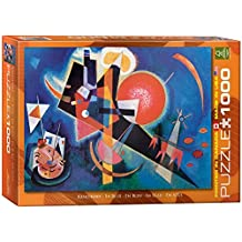 Eurographics In Blue by Wassily Kandinsky Puzzle (1000 Pieces) by Eurographics