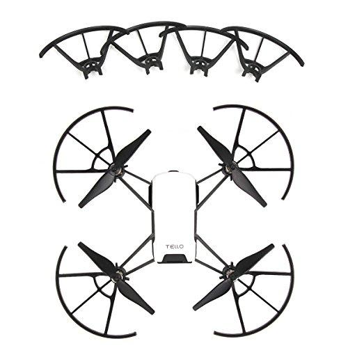 RC GearPro 4pcs Snap On / Off Propeller Guards Kompatibel für Tello Drone (Guard Propeller)