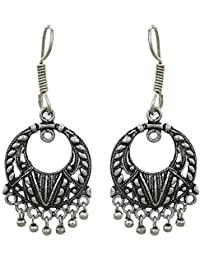 Traditional and Ethnic Jewelry, Indian fashion Earrings, Made in Copper ,