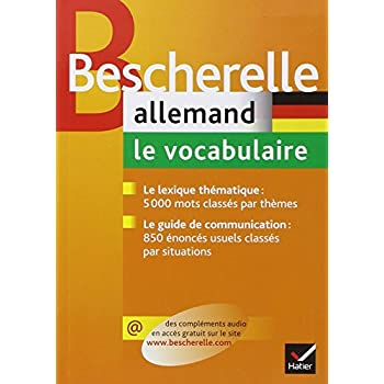 Allemand : Le vocabulaire