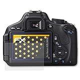 atFoliX Schutzfolie für Canon EOS 600D / Rebel T3i Displayschutzfolie - 3 x FX-Antireflex blendfreie Folie