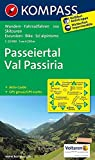 Passeiertal - Val Passiria: Wanderkarte mit Aktiv Guide, Radrouten und Skitouren. GPS-genau. 1:25000 (KOMPASS-Wanderkarten, Band 44)