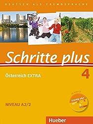 Schritte plus 04. Kursbuch + Arbeitsbuch mit Audio-CD zum Arbeitsbuch und interaktiven Übungen + Österreich EXTRA mit Audio-CD: Deutsch als Fremdsprache
