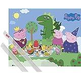 Poster + Hanger: Peppa Wutz Mini-Poster (50x40 cm) Prinzen-Picknick Inklusive Ein Paar 1art1® Posterleisten, Transparent