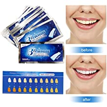 Blanqueador Dental,Tiras de Blanqueamiento,Tooth whitening,Teeth Whitening Strips,Kit de Blanqueamiento de Dientes - 14 Kits 28 Tiras - Sabor Menta