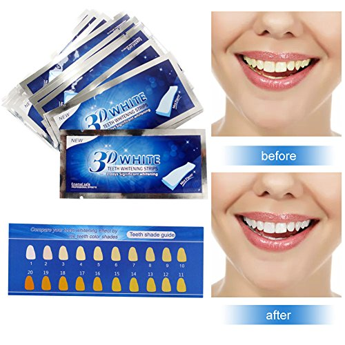 Blanchiment Dentaire,Blanchiment des Dents,Bande Blanchiment Dentaire ,Bandes Blanchissantes,Bandes de Blanchiment des Dents,Teeth Whitening Strip,Traitement Maison de Blanchiment des Dents,14 Paires,28 Bandes