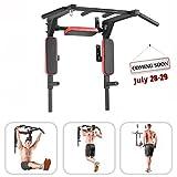 Bar2Fit Klimmzugstange Wandmontage Mit Dip Barren - Bis 200kg - Für Workout Crossfit Fitness
