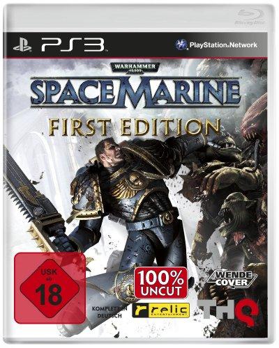 Warhammer 40.000: Space Marine - First Edition (uncut) (Marine-konsolen)