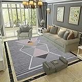 L&ZX Flur Schlafzimmer Wohnzimmer Große Teppiche, Rutschfeste Easy-Reinigung Für Teppich, Teppich,160Cmx230cm