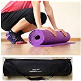 Happytech Fitness Non Slip Yoga Mat 6mm Extra Thick and Comfort
