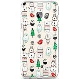 Hülle für Samsung Galaxy A3 2017, Hpory Handyhülle Samsung Galaxy A3 2017 Weihnachten Muster Weiche TPU Silikon Transparent Back Case Tasche Schutz Schutzhülle + 1 x Hpory Stylus - Weihnachten Serie