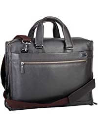 Cross Men's Genuine Leather Briefcase with Free Cross Agenda Pen (AC021005)