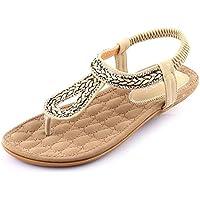 LIXIONG Tragbar Mode Damen Pantoffeln Strand Hausschuhe Anti-Rutsch Flache Pantoffeln Innen-und Outdoor-Sandalen (18-40 Jahre Alt) Modeschuhe ( Farbe : 1003 , größe : EU38/UK5.5/CN38 )