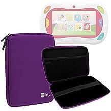 DURAGADGET Funda Tapa Dura Morada Para Gioco Happy Tablet 5710 De Chicco   Con Velcro En El Interior Para Una Mayor Sujeción - Alta Calidad