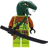 LEGO Ninjago Minifigur Zoltar Snake Villian aus Set 10725 incl. 1 GALAXYARMS Schwert