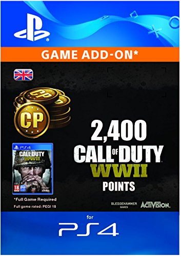 Price comparison product image Call of Duty: WWII - 2400 Points DLC | PS4 Download Code - UK Account