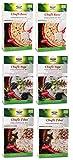 Chufli Mix, 2 Basic, 2 Yoga und 2 Tibet je 500 g von GOVINDA