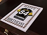 NFL National Football League Geburtstagskarte, mit Trikot-Kühlschrank-Magnet Pittsburgh Steelers NFL Fridge Magnet Card A5 Fridge Magnet Birthday Card