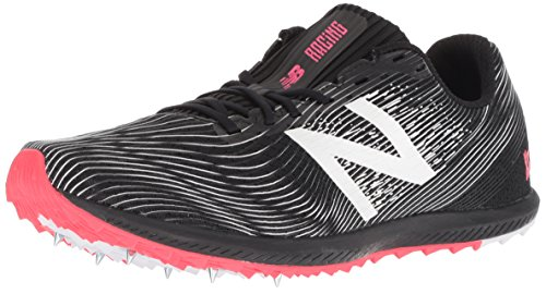 New Balance Herren CS7 Leichtathletikschuhe, Schwarz (Black/Bright Cherry Bp), 43 EU