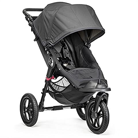Baby Jogger City Elite Stroller - Single, Titanium