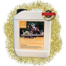 ⭐EMMA ♥ Champú para caballos - Set económico I Cuidado del caballo I Cuidado del pelo I Champú para caballos y perros I Manzanilla y proteínas I Suave, ...