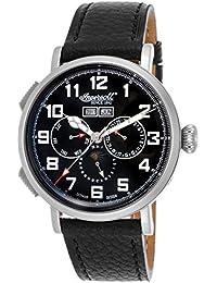 Ingersoll IN1917RBK Armbanduhr, Schwarz Lederband