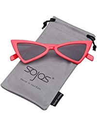 b5ff6fb8d6 SOJOS Gafas De Sol Mujer Moda Triángulo Ojo De Gato SJ2051