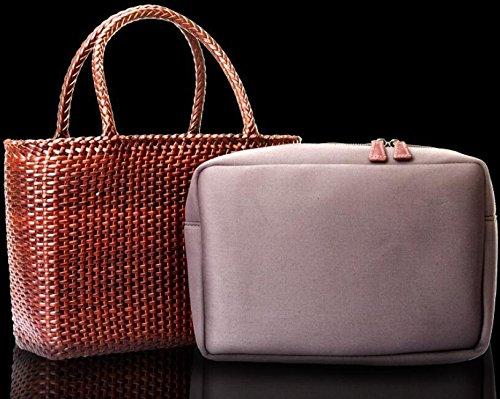 DJB/ Gewebte Taschen/Vlies Quadrat / / Slub Weben mit Tasche/Taschen/Ledertasche coffee color