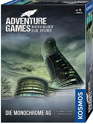 KOSMOS 695132 - Adventure Games - Die Monochrome AG. Entdeckt die Story Kooperatives Gesellschaftsspiel