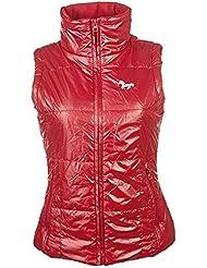 HKM–Chaleco de equitación–Super Fit de rojo Talla:small