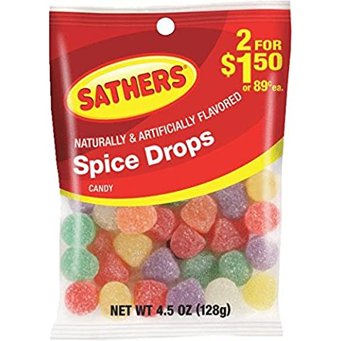 Sathers Spice Drops 2$1.50