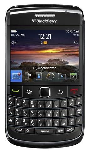 Blackberry Bold 9780 Smartphone (QWERTZ Tastatur, 6.2 cm (2.44 Zoll) Display, HSDPA, WiFi, 5MP Kamera, 2GB Speicherkarte) schwarz