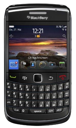Blackberry Bold 9780 Smartphone (QWERTZ Tastatur, 6.2 cm (2.44 Zoll) Display, HSDPA, WiFi, 5MP Kamera, 2GB Speicherkarte) schwarz (Blackberry-media-karte)