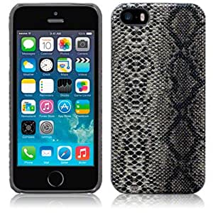 Terrapin PU Leather Back Case for iPhone 5S - Snakeskin
