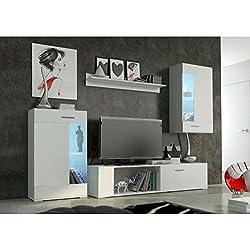 JUSThomd Foox mini Muebles de salón comedor Color: Blanco