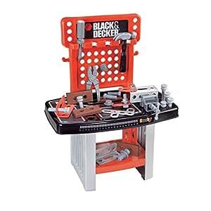 Smoby black decker banco da lavoro giocattolo for Tavolo lavoro black decker