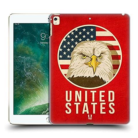 Head Case Designs États-Unis Animaux Patriotiques Étui Coque D'Arrière Rigide Pour Apple iPad Pro 12.9 (2016/17)