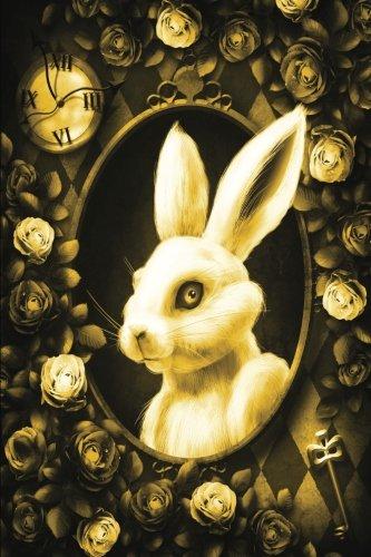 alice-in-wonderland-modern-journal-inwards-white-rabbit-yellow-100-page-6-x-9-ruled-notebook-inspira