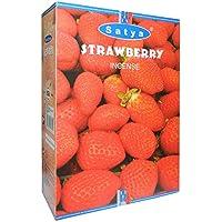 Räucherstäbchen Satya Strawberry 240g Erdbeere 12 Schachteln Nag champa Duft Wohnaccessoire Raumduft - preisvergleich