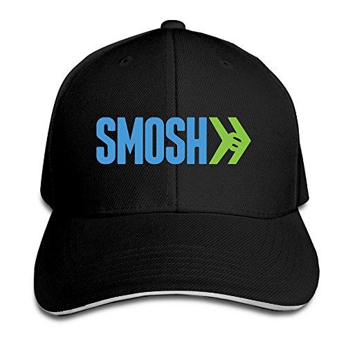 teenmax-unisex-smosh-logo-sandwich-peaked-baseball-cap