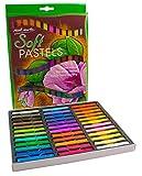 Mont Marte weiches Pastell Set - 36 Stück Pastellfarben, Pastellkreide, Softpastellkreide, Pastell - Ideal für Bunte und ausdrucksstarke Malerei