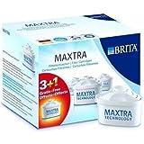 Brita 100482 Pack de 3 Cartouches MAXTRA + 1 offerte