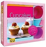 Cupcakes-Set: Mit 12 Silikonbackförmchen (GU BuchPlus)